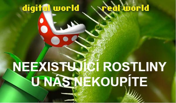 Neexistující rostliny