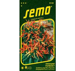 Capsicum sp. / Papričky okrasné ´SMĚS´, bal. 0,3 g