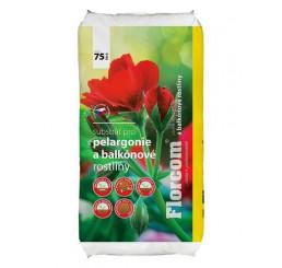 Substrát pre balkónové kvety, bal. 20 l