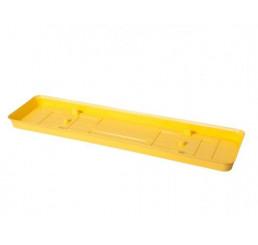 Podmiska pod truhlík VERBENA 60cm žlutá