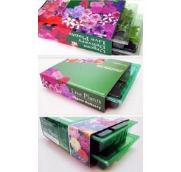 Kolekce 12 rostlin pro závěsnou tašku, nebo tubu, pack 12 sadbovačů