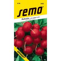 Ředkvička kulatá červená pro rychení i pole ´GRANÁT´, bal. 5 g