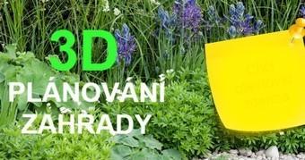 3D plánování zahrady