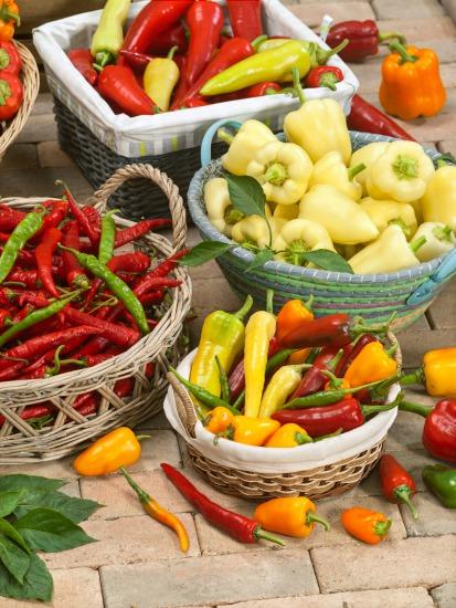 Vyséváme plodovou zeleninu