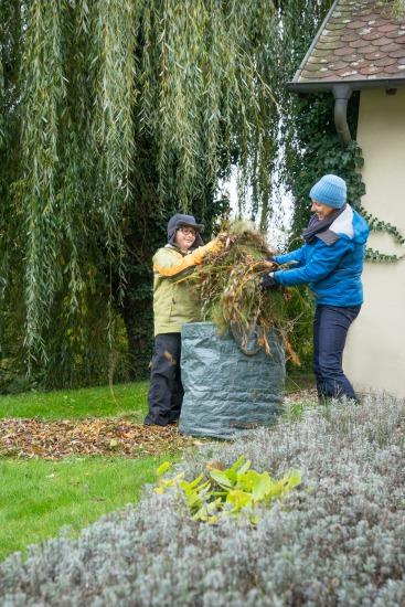 Jak na listí a zahradní odpad