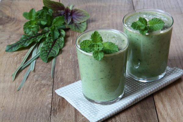 Smoothie - čerstvé zelené osvěžení s energií